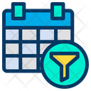 Filter Calender Planner Icon