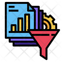 Filter Data Analysis Icon
