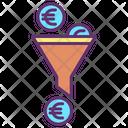 Mfilter Business Filter Euro Euro Icon