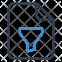 Filter file Icon