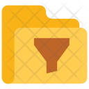 Filter Folder Data Icon