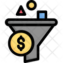 Filter Funnel Short Budget Icon