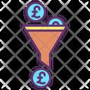 Mfunnel Filter Pound Pound Icon