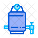 Water Filtering Treatment Icon