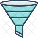 Filtering Funnel Filtration Icon