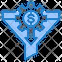 Filter Money Gear Icon