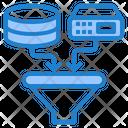 Filtering Data Filter Data Icon