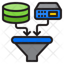 Filtering Data Icon