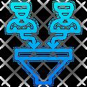 Filtering Employee Filter Organization Icon