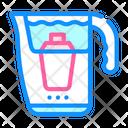 Filtering Pot Color Icon