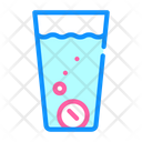 Water Glass Filtration Icon