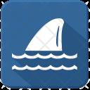 Fin Shark Sea Icon