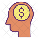 Finacial Mind Finance Mind Business Mind Icon