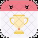 Final Date Trophy Award Icon