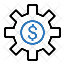 Finance Money Setting Icon
