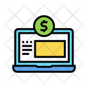 Finance Internet Working Icon