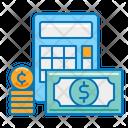 Finance Calculator Accounting Icon