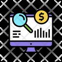 Finance Research Color Icon