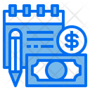 Finance Account Pen Icon