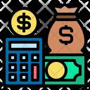 Finance Investment Calculator Icon