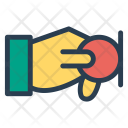 Finance Pay Hand Icon