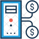 Finance Online Business Icon