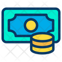 Coins Money Banknote Icon