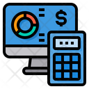 Economy Calculator Computer Icon
