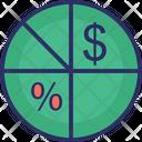 Finance Analysis Chart Pie Icon