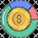 Finance Analysis Pie Chart Chart Icon