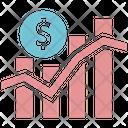 Analysis Graph Analytics Icon