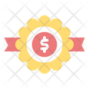 Finance Badge Badge Coin Icon