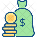 Finance Bag Icon