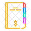 Financial Report Color Icon