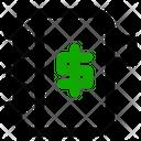 Notepad Banking Economy Icon
