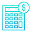 Finance Calculation Calculation Calculator Icon