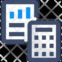 Budget Finance Calculation Calculator Icon