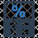 Finance Calculator Mortgage Icon