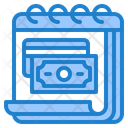 Finance Calendar Money Credit Card Icon