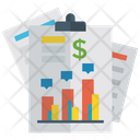 Finance Chart Business Chart Business Model Icon