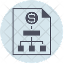 Business Money Strategy Icon