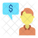 Finance Chat Icon