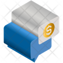 Business Finance Message Icon