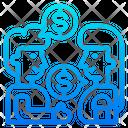 Finance Chat Conversation Talk Icon