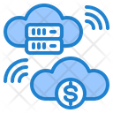 Finance Cloud Cloud Finance Icon