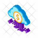 Finance Cloud Connection Icon