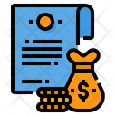Finance Contract Finance Contract Icon