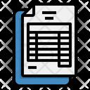 Balance Bank Documents Icon