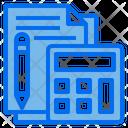 Calculator Accounting File Icon