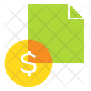 Document Contract Finance Icon
